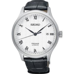 Seiko Presage Automatic Uhrenarmband SRPC83 Leder Schwarz