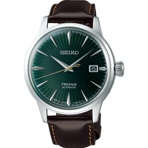 Seiko Presage Automatic Uhrenarmband SRPD37 Leder Braun