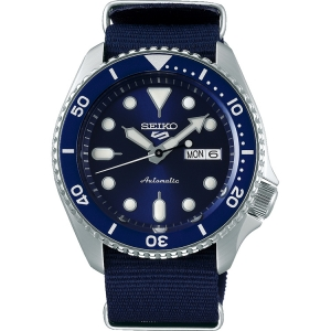 Seiko 5 Sports SRPD51 Uhrenarmband Nato Blau 22mm