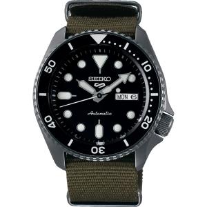 Seiko 5 Sports SRPD65 Uhrenarmband Nato Grün 22mm