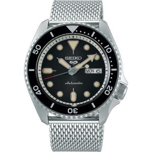 Seiko 5 Sports Uhrenarmband SRPD73 Mesh (Milainese) Silber