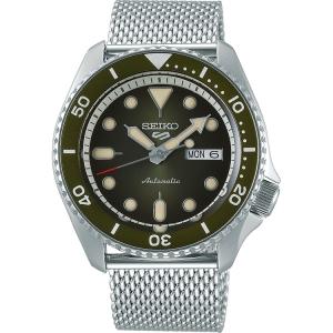 Seiko 5 Sports Uhrenarmband SRPD75 Mesh (Milainese) Silber