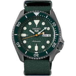Seiko 5 Sports SRPD77 Uhrenarmband Nato Grün 22mm