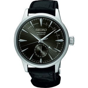 Seiko Presage Automatic Uhrenarmband SSA345 Leder Schwarz