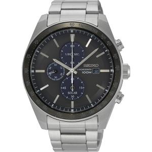 Seiko Chronograph Solar Uhrenarmband SSC715 Edelstahl