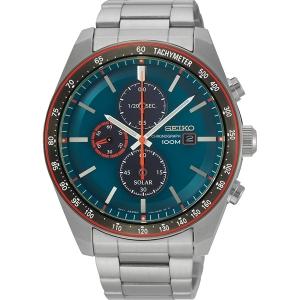 Seiko Chronograph Solar Uhrenarmband SSC717 Edelstahl