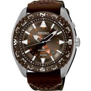 Seiko prospex Uhrenarmband SUN061 Leder Braun