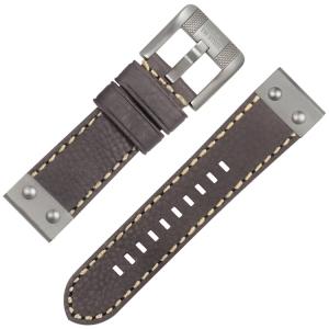 TW Steel NightRider NR1 Uhrenarmband Grau 24mm