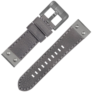 TW Steel NightRider NR2 Uhrenarmband Grau 24mm