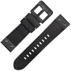 TW Steel NightRider NR3 Uhrenarmband Schwarz 24mm