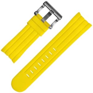 TW Steel Grandeur Tech Uhrenarmband Gummi Gelb Universell