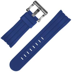 TW Steel Grandeur Tech Uhrenarmband Gummi Blau Universell