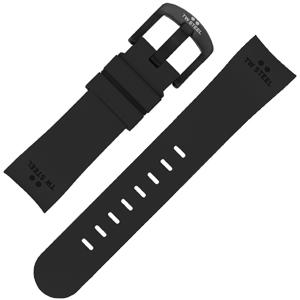 TW Steel Uhrenarmband TW42 - Gummi Schwarz 22mm