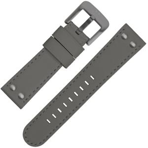 TW Steel Uhrenarmband TW420, TW422, TW430 Grau 22mm