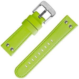 TW Steel Uhrenarmband Fluor Grün 24mm