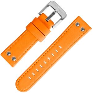 TW Steel Uhrenarmband Fluor Orange 24mm