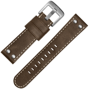 TW Steel Uhrenarmband CS31, CS33 Braun 22mm