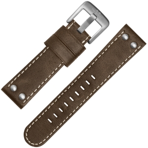 TW Steel Uhrenarmband CS32, CS34 Braun 24mm