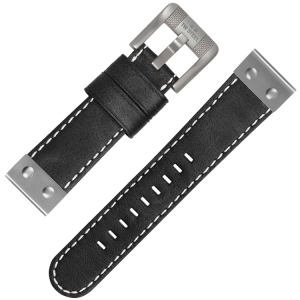TW Steel Uhrenarmband CS5 Schwarz 22mm