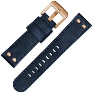 TW Steel Uhrenarmband CS61, CS63 Blau 22mm