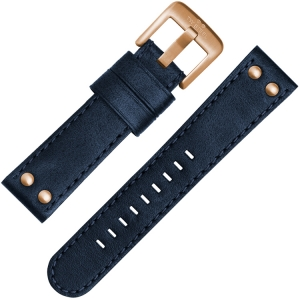 TW Steel Uhrenarmband CS62, C64 Blau 24mm