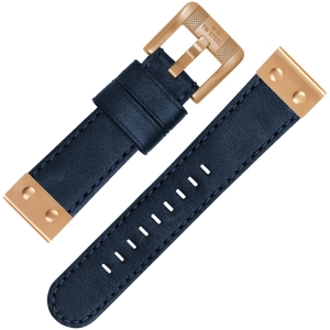TW Steel Uhrenarmband CS65 Blau 22mm
