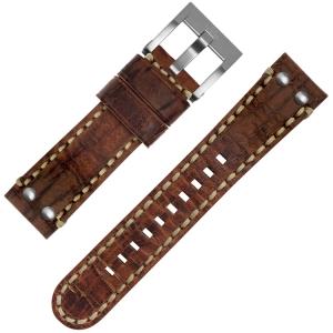 TW Steel Uhrenarmband MS1 Braun 22mm