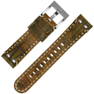 TW Steel Uhrenarmband MS11 Cognac 22mm