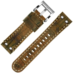 TW Steel Uhrenarmband MS14, MS16 Cognac 24mm