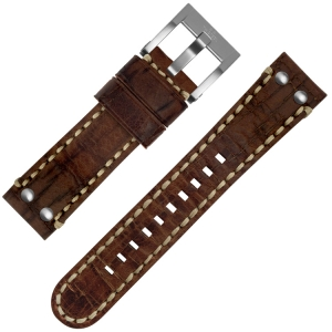 TW Steel Uhrenarmband MS21 Braun 22mm