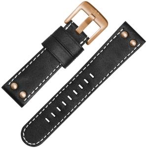 TW Steel Uhrenarmband CS71, CS73 Schwarz 22mm