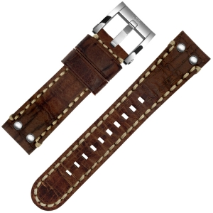 TW Steel Uhrenarmband M23, MS25 Braun 22mm