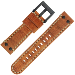 TW Steel Uhrenarmband MS33, MS35 Braun 22mm