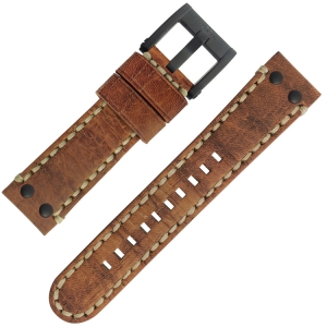 TW Steel Uhrenarmband MS43, MS45 Camel 22mm