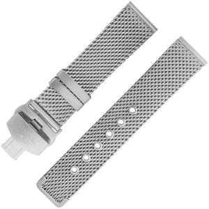 TW Steel Uhrenarmband Mesh/Milanaise MB1, MB11 Gewebter Stahl 22mm