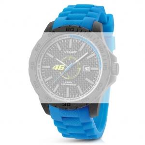 TW Steel VR5 Valentino Rossi VR|46 Uhrenarmband - Gummi Blau 20mm