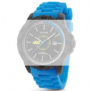 TW Steel VR6 Valentino Rossi VR|46 Uhrenarmband - Gummi Blau 22mm