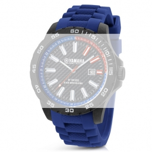 TW Steel Y1 Yamaha Factory Racing Uhrenarmband - Gummi Blau 20mm