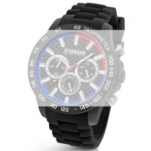 TW Steel Y112 Yamaha Factory Racing Uhrenarmband - Gummi Schwarz 22mm