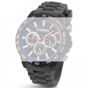TW Steel Y114 Yamaha Factory Racing Uhrenarmband - Gummi Grau 22mm