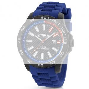 TW Steel Y2 Yamaha Factory Racing Uhrenarmband - Gummi Blau 22mm
