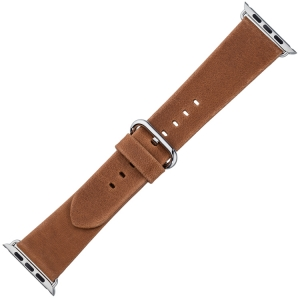 Apple Watch Uhrenarmband Cognac Vintage Leder