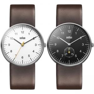 Braun Uhrenarmband für BN0021WHBRG und BN0024BKBRG - Leder Braun