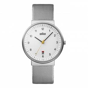 Braun Uhrenarmband für BN0032WHSLMHG - Mesh Milanaise