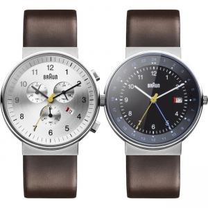 Braun Uhrenarmband für BN0035SLBRG und BN0142BKBRG - Leder Braun