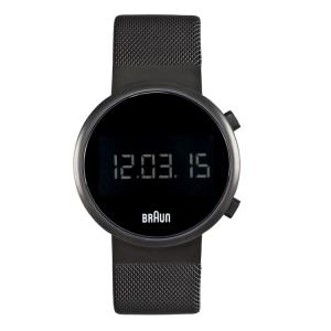 Braun Uhrenarmband für BN0036BKBKMHG - Mesh Milanaise Schwarz
