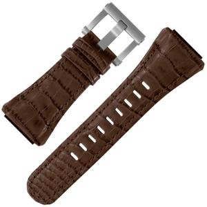 TW Steel Uhrenarmband CE4014 CEO Tech 48mm - Leder Braun 32mm