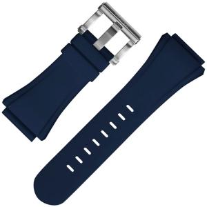 TW Steel Uhrenarmband CE4016 Kivanc, CE5007 Coronel WTCC CEO Tech 48mm - Gummi Blau