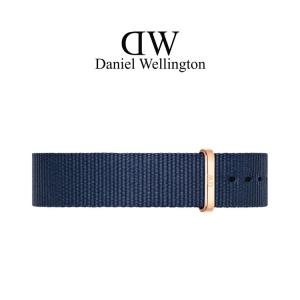 Daniel Wellington 18mm Classic Bayswater NATO Uhrenarmband mit Roségoldfarbiger Schliesse