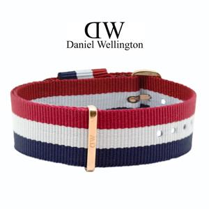 Daniel Wellington 20mm Classic Cambridge NATO Uhrenarmband mit Roségoldfarbiger Schliesse